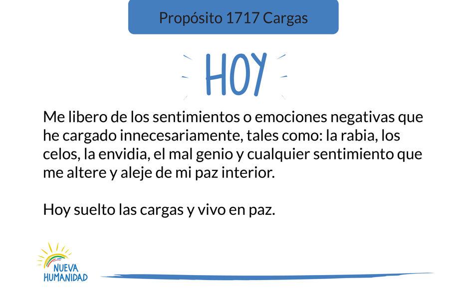 Propósito 1717 Cargas