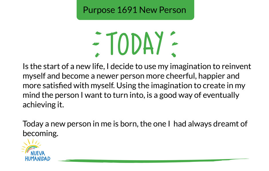 Purpose 1691 New Person