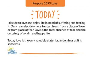 Purpose 1693 Love