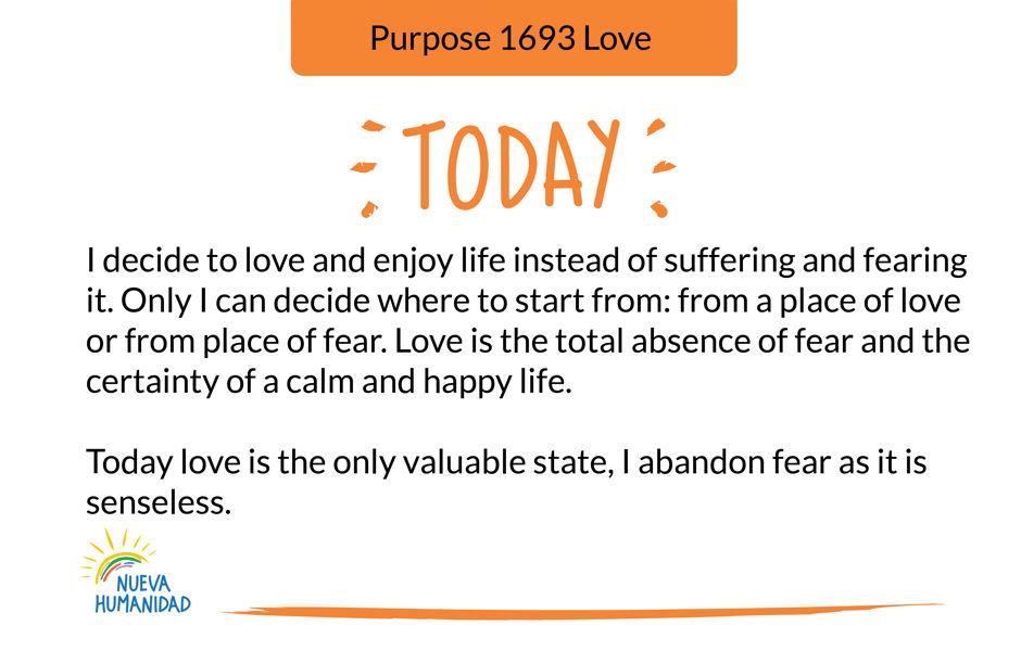 Purpose 1693 Love
