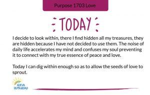 Purpose 1703 Love