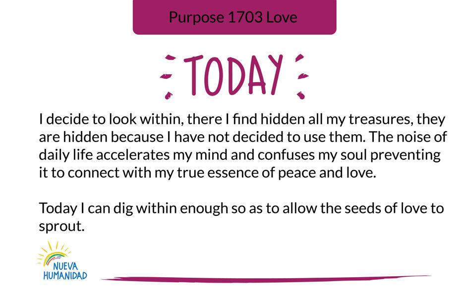 Purpose 1703 Love