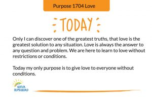 Purpose 1704 Love