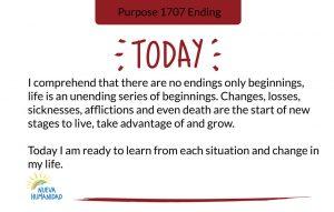Purpose 1707 Ending