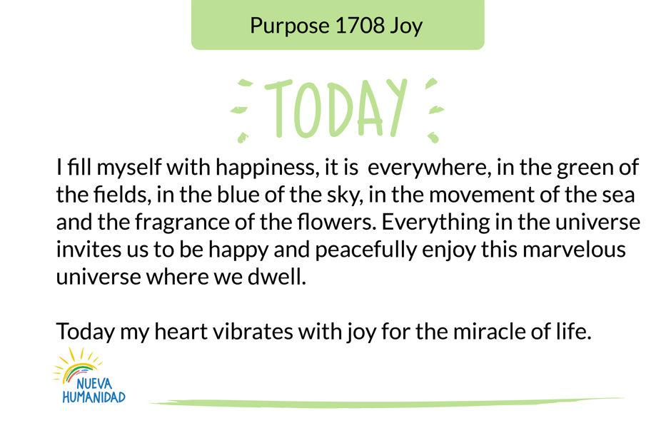 Purpose 1708 Joy