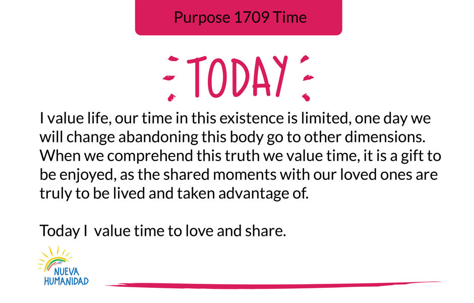 Purpose 1709 Time