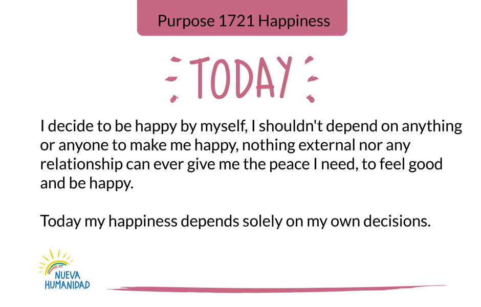 Purpose 1721 Happiness