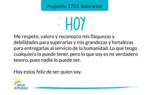 Propósito 1723 Valoración