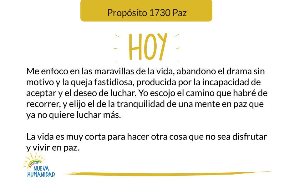 Propósito 1730 Paz