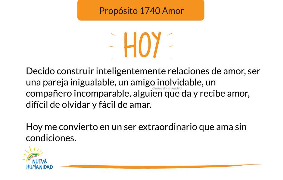 Propósito 1740 Amor