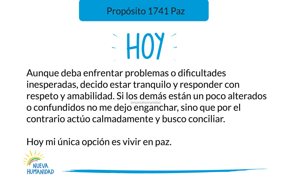 Propósito 1741 Paz