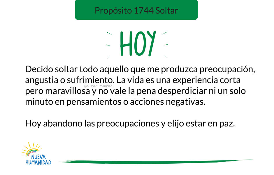 Propósito 1744 Soltar