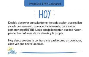 Propósito 1747 Confianza