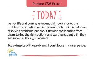 Purpose 1725 Peace
