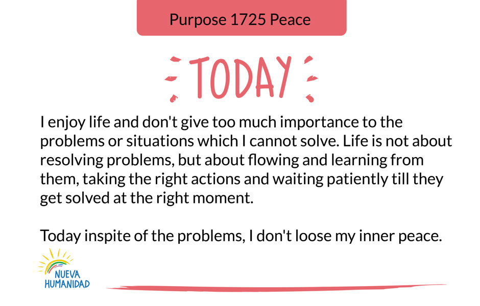 Purpose 1725 Peace