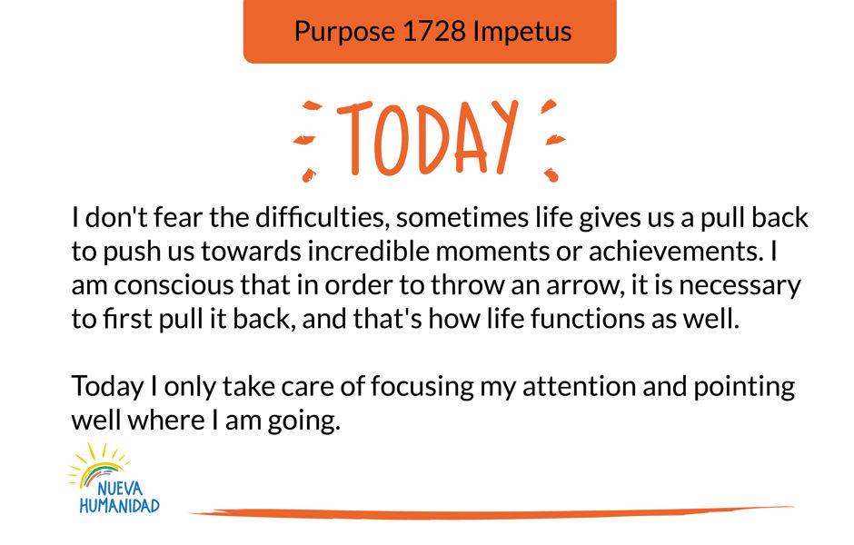 Purpose 1728 Impetus