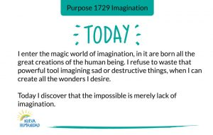 Purpose 1729 Imagination