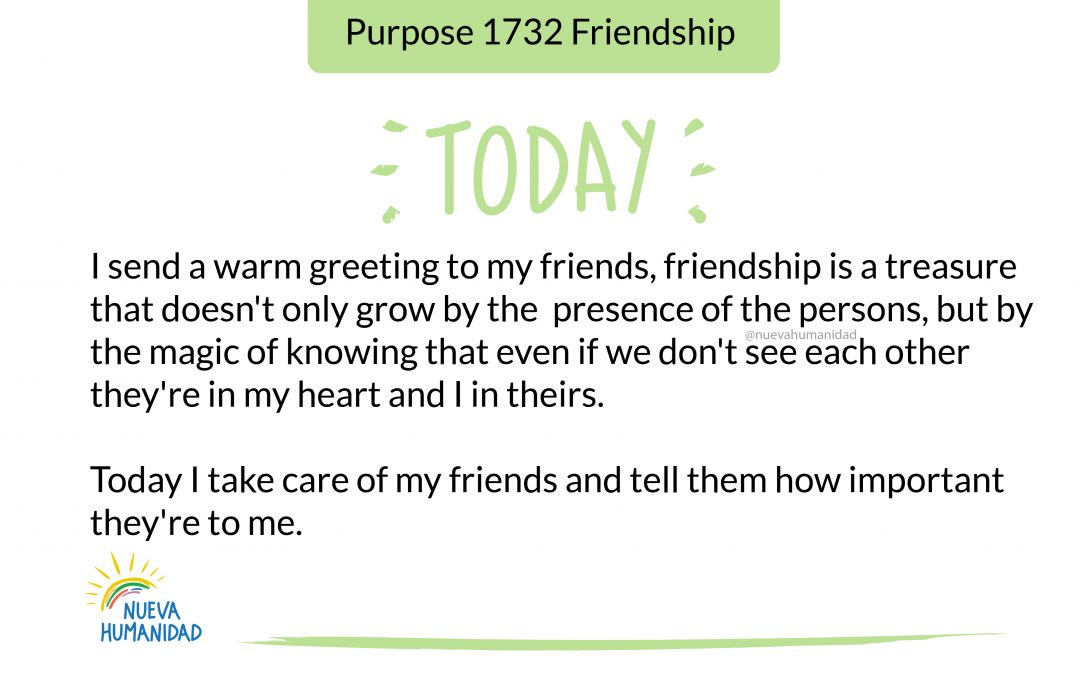Purpose 1732 Friendship
