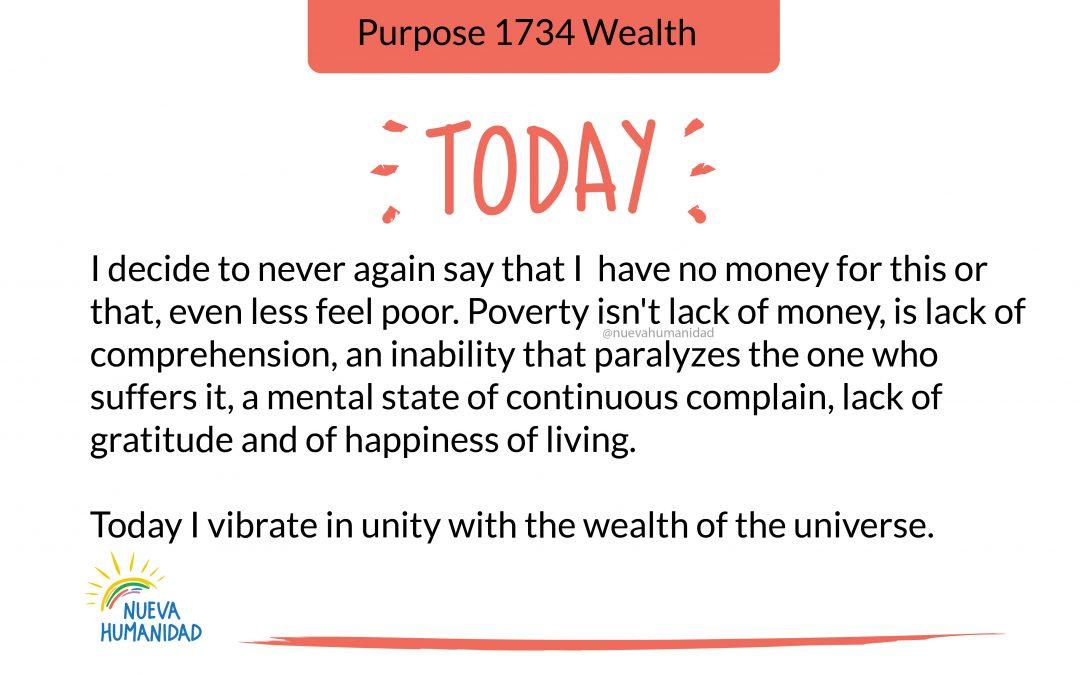 Purpose 1734 Wealth