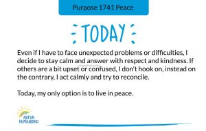 Purpose 1741 Peace