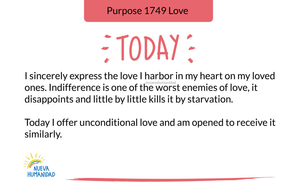 Purpose 1749 Love