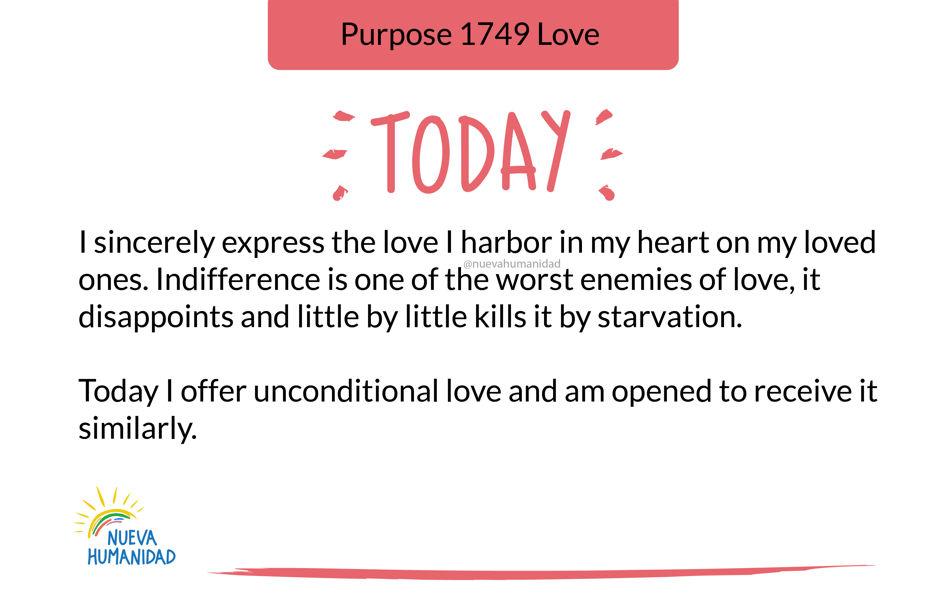 Purpose 1749 Love