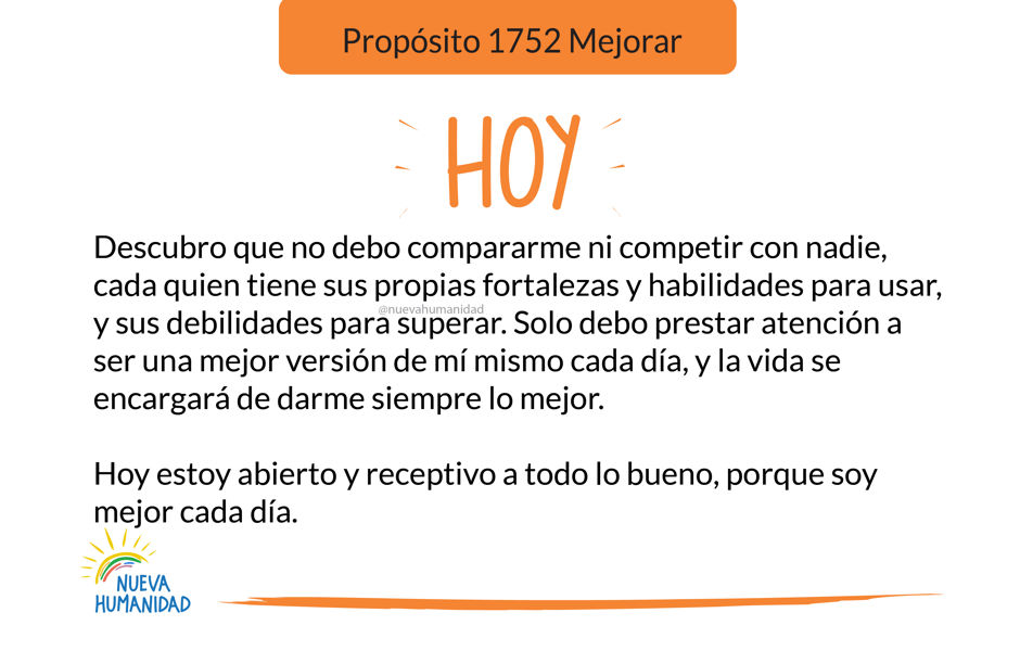 Propósito 1752 Mejorar