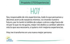 Propósito 1753 Experiencias