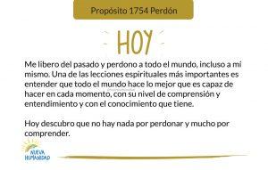Propósito 1754 Perdón