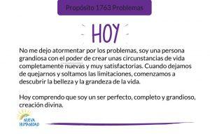 Propósito 1763 Problemas