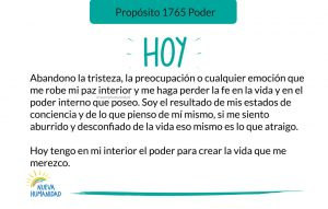 Propósito 1765 Poder