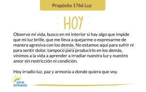 Propósito 1766 Luz