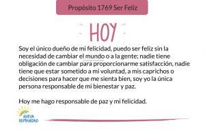 Propósito 1769 Ser Feliz