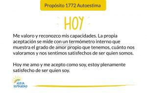 Propósito 1772 Autoestima