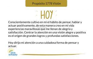 Propósito 1778 Visión