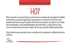 Propósito 1779 Fuerza Universal