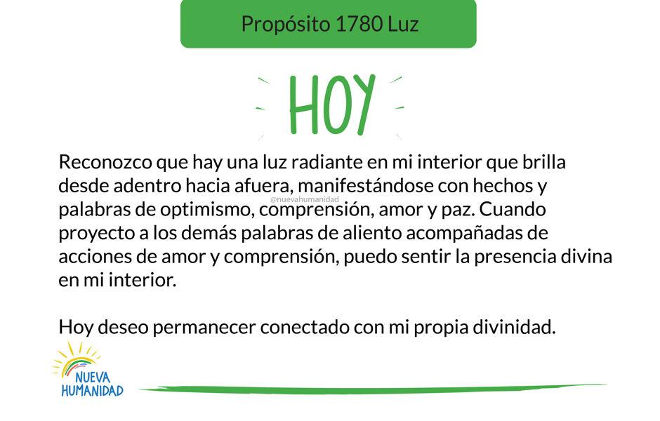 Propósito 1780 Luz