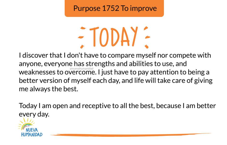 Purpose 1752 To improve