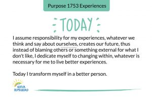 Purpose 1753 Experiences
