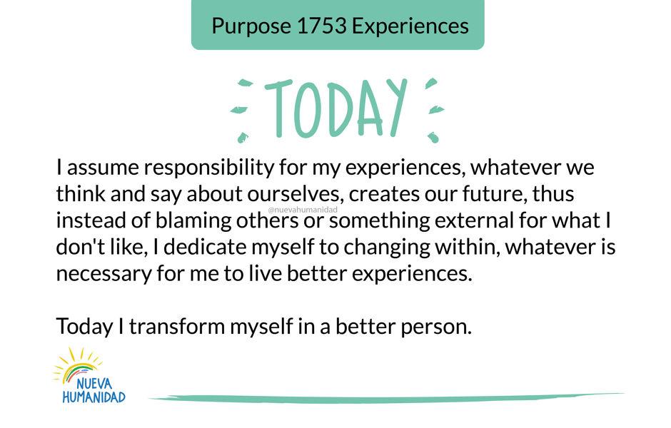 Purpose 1753 Experiences