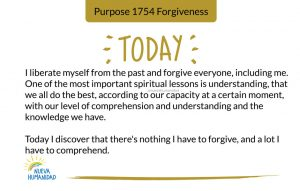 Purpose 1754 Forgiveness