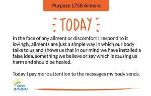 Purpose 1758 Ailment