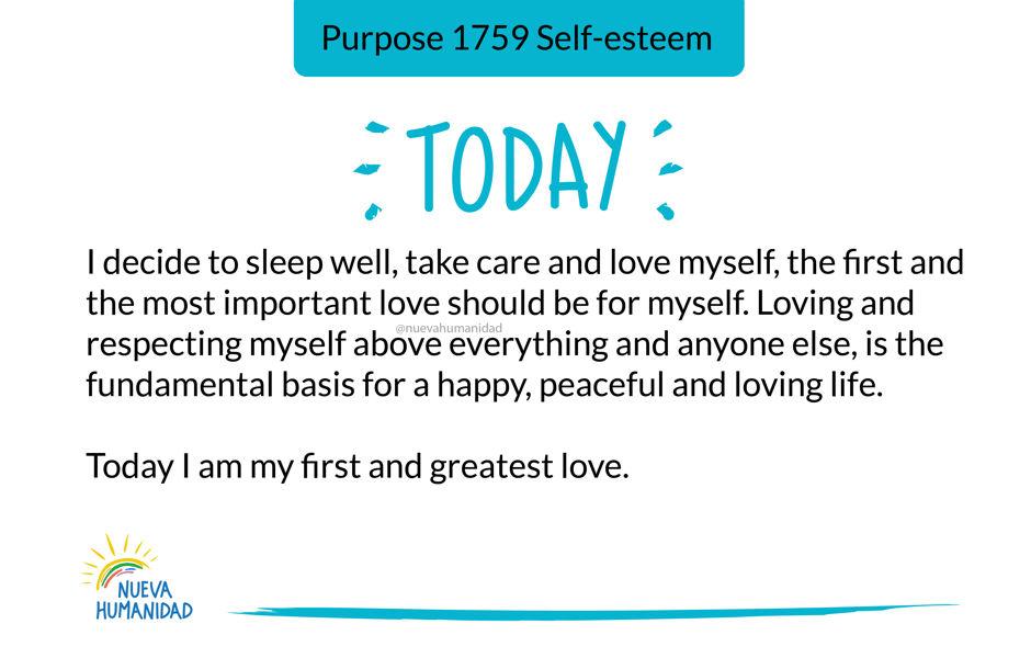 Purpose 1759 Self-esteem