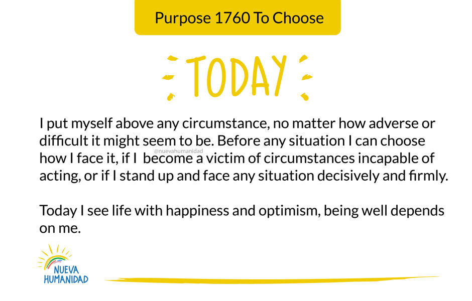 Purpose 1760 To Choose
