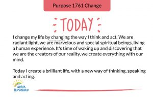 Purpose 1761 Change