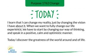 Purpose 1762 Change