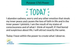 Purpose 1765 Power