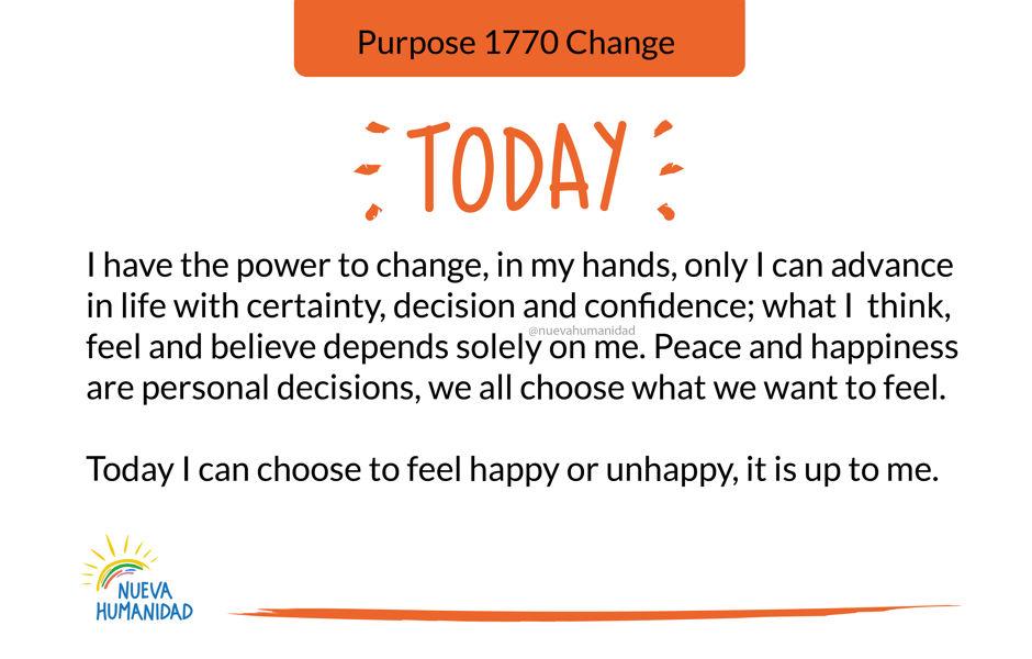 Purpose 1770 Change