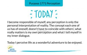 Purpose 1771 Perception