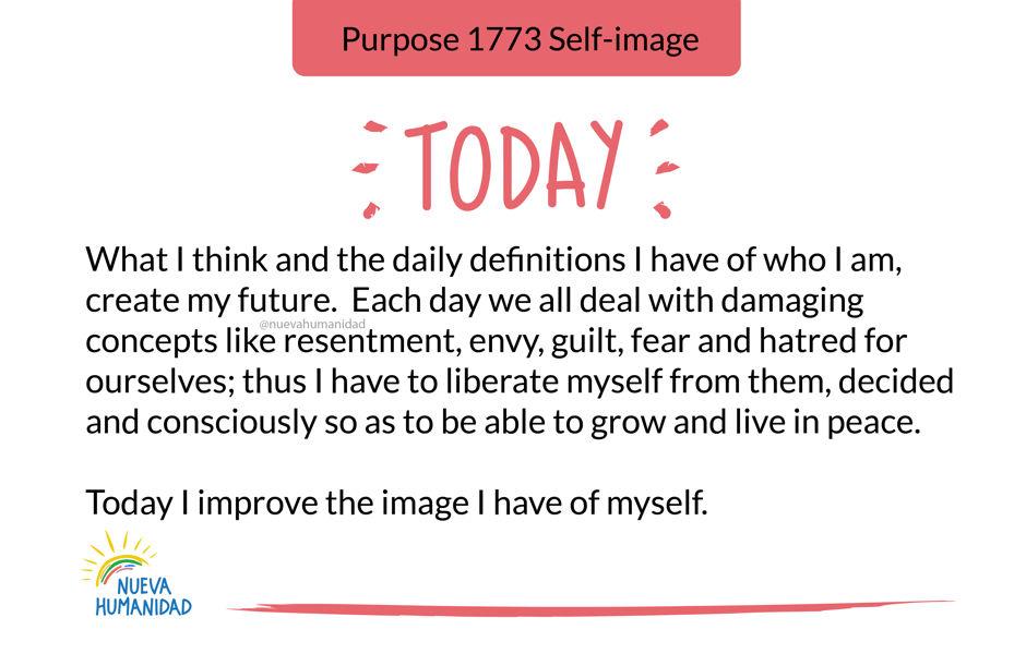 Purpose 1773 Self-image